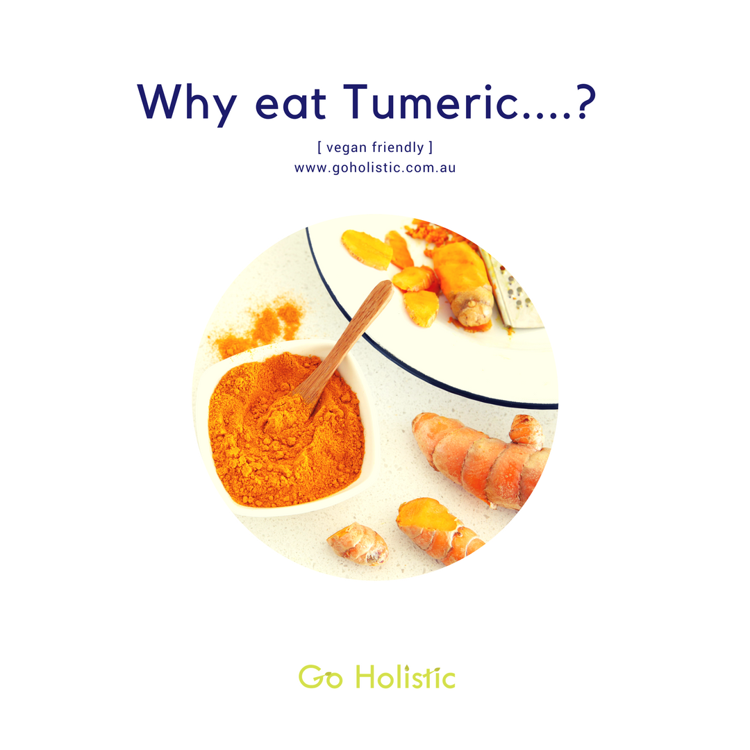 Why eat tumeric?